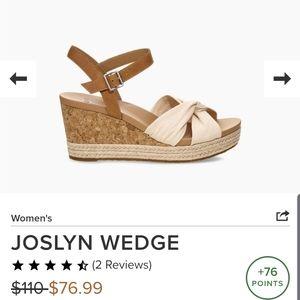 NWT UGG Joslyn Wedge Sandles Brand New!!